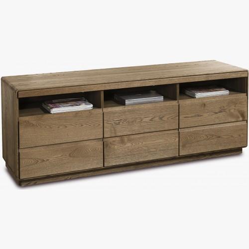 Dřevěný tv stolek z dubu, Helsinki 26