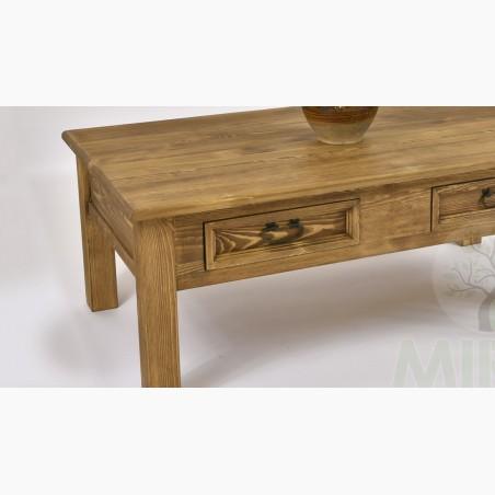 Konferenční stolek dub - MEGA AKCE - Dub páleny
