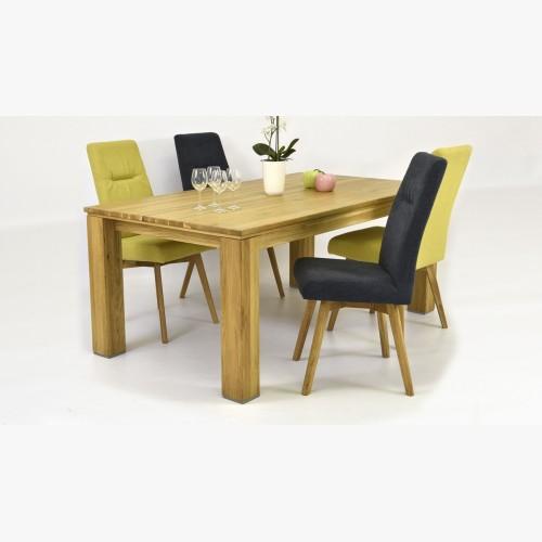 Jídelní stůl DUB masiv a židle