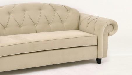 Dubová židle - hnědá imitace kůže