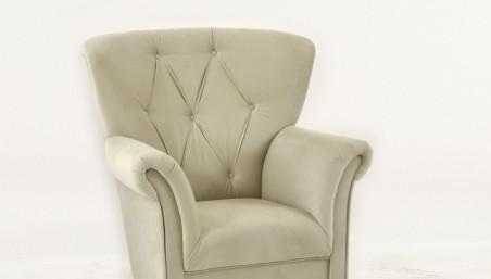 Dubová židle Kožená