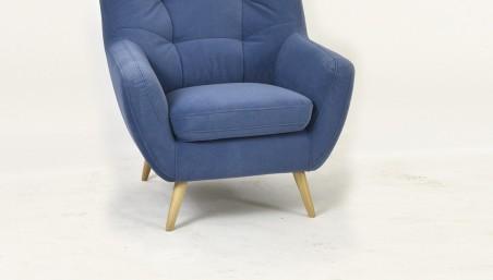 Dubová židle s ručkou