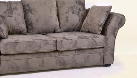 Jednolůžková postel rustikální