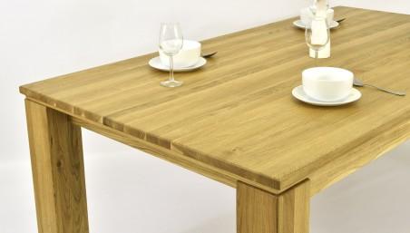 Stůl z masivu a židle