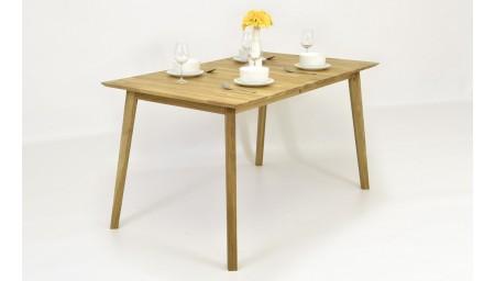 Masivní jídelní stůl dubový, Alexandra