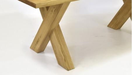 Dubový stůl rozkládací 160 - AKCE