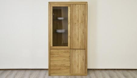 Obývací stěna - Výprodej - dub masiv