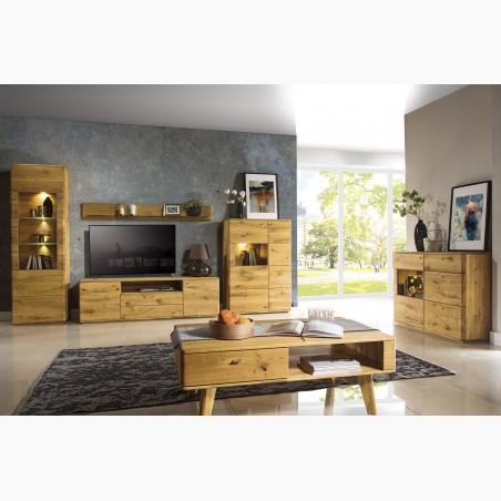 Nábytek z dubu do obývacího pokoje