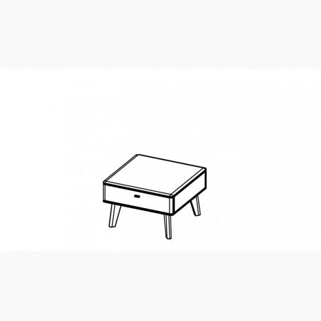 Dubový stůl - George 220 x 100