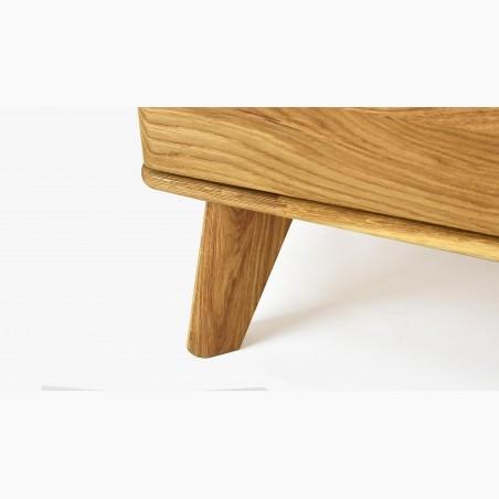 Kožená židle jídelní - zelená