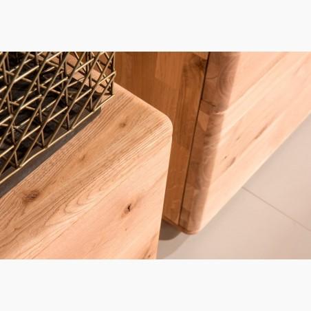 Kožené židle do kuchyně a dubový stůl