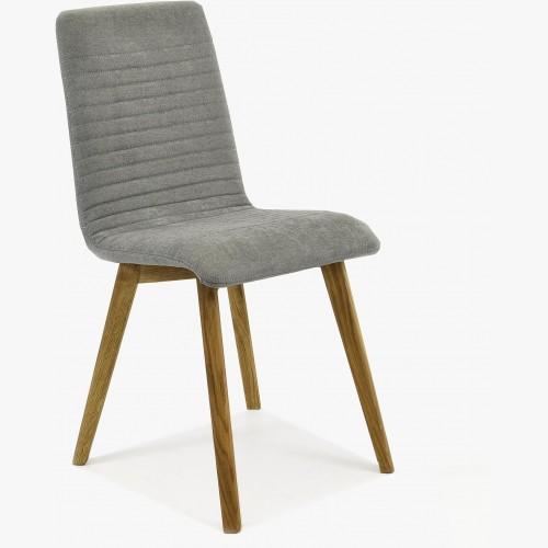 Židle do kuchyně - svetle šedá, Arosa - Lara Design