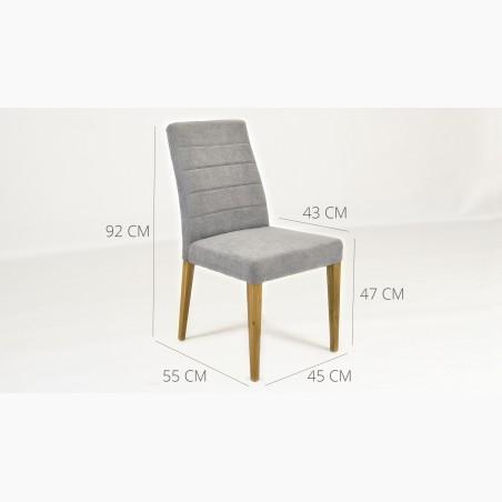 Dubový stůl - nohy x