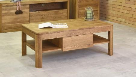Oválný stůl a židle DUB