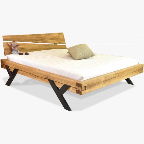 Luxusní postel z masivu model Y - dub