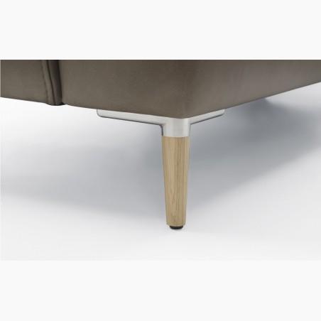 Masivní stůl z dubu a křesílka