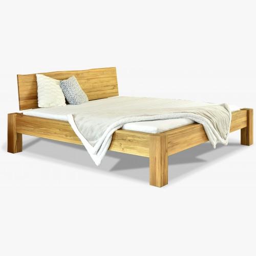 Manželská postel z masivu luxusní dub, Dunaj