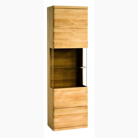 Designová luxusní židle - dub, Almondo