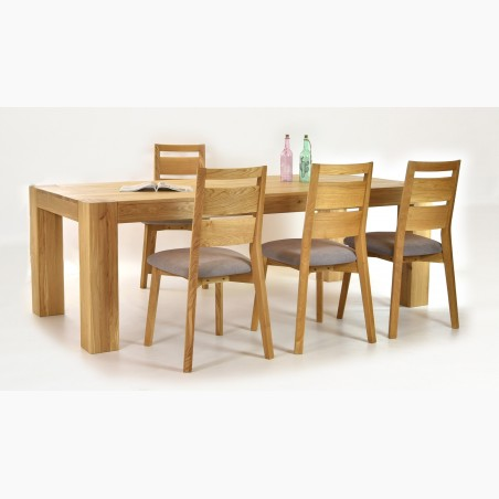 Dlouhý televizní stolek masív dub, Typ 25