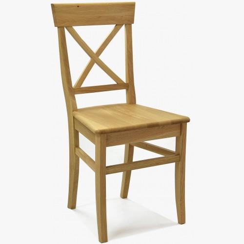 Dubová židle Country - Masiv - MEGA akce