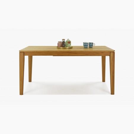 Obývací stěna bílá + dřevo - Akce, Aspen