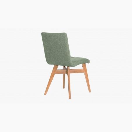 Jídelní židle s retro nádechem, žluta Lotos