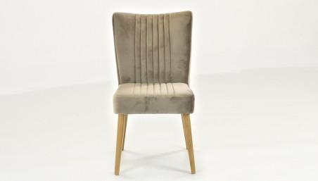 Židle z pravé kůže, Camel- Madrid