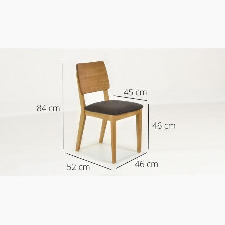 Dřevěná židle v provence stylu, France