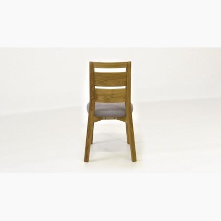 Designová židle do jídelny, šedá - Lexus
