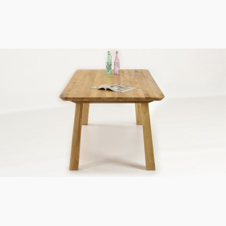 Retro stůl masiv včetně židlí, Dub