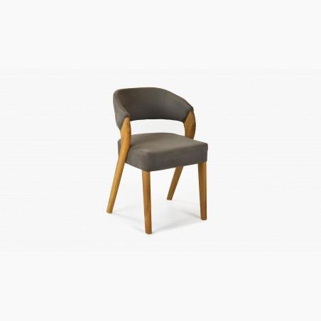 Designové židle dub včetně dubového stolu