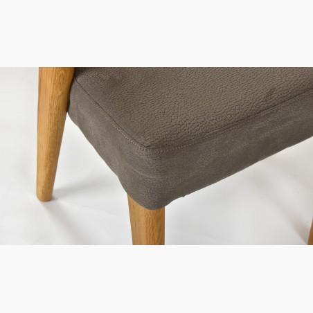 Stůl z masivu a židle, dub, NL + Lexus