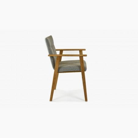 Židle do kuchyně - žlutá, Arosa - Lara