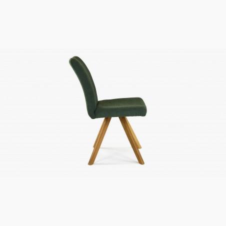Barová židle dubová, světlá šedá Arosa