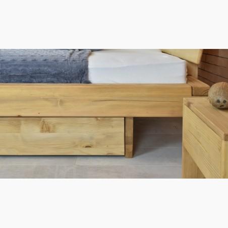 Dubový stůl George 180 x 100 - 220 x 100 a židle Lotos