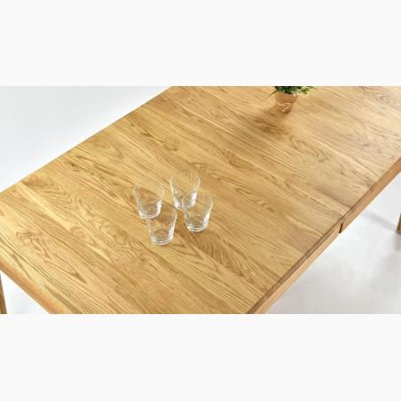 Velký stůl z masivu, dub pro osm osob, ASPEN