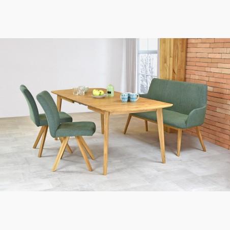 Celo dřevěná jídelní židle venkovská, dub Country