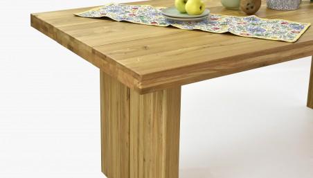 Rozkládací dubový stůl a židle, Houston + Norman
