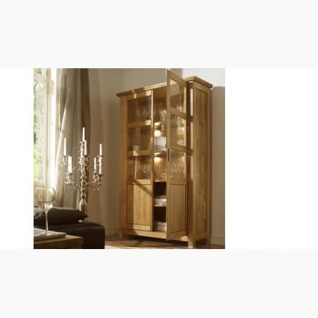 Dřevěná postel manželská, 140,160, 180 x 200 cm, L6