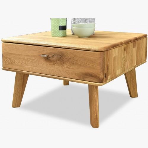 Retro konferenční stůl z dubu, janosik typ 66