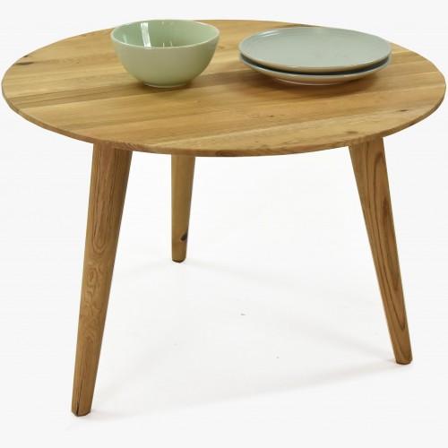 Kulatý konferenční stolek - masiv dub, Trondheinm
