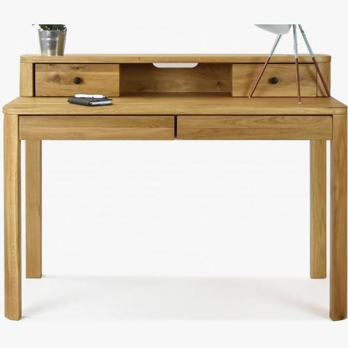 Dubový pracovní stůl, zaoblené rohy Jack