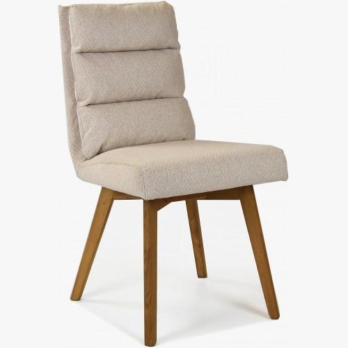 Pohodlná židle, nohy dub béžová Kampa
