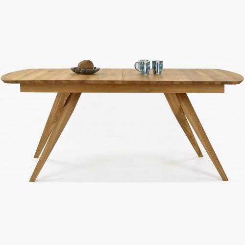 Designový masivní dubový stůl rozkládací, Anor