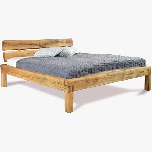 Dubová postel z masivu 180 cm, Ernad