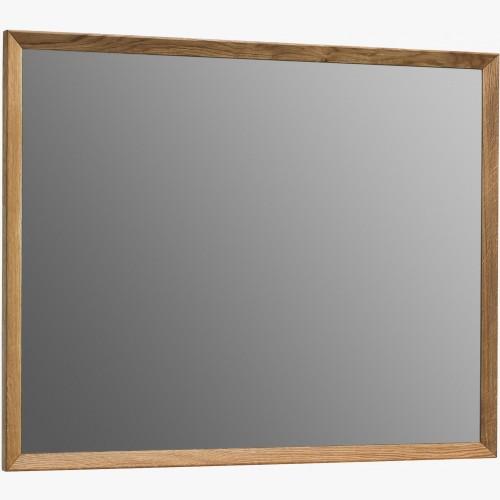 Zrcadlo s dubovým rámem - čtvercové, Vigo 50