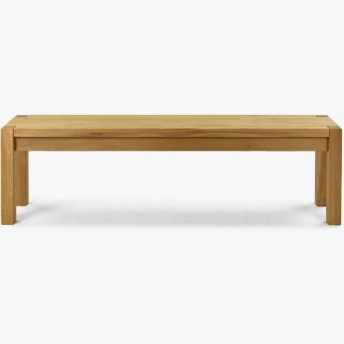 Dřevěná masivní lavice dub, Kobi