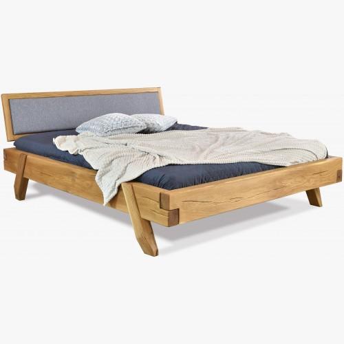 Luxusní postel z trámů dub , Manželská Spider