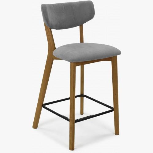 Barová židle,Amisa světle šedá
