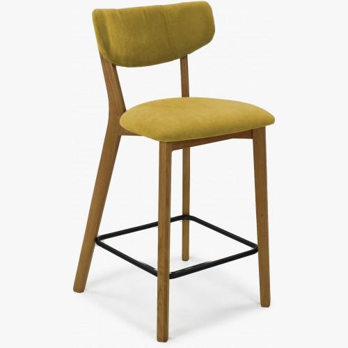 Barová židle,Amisa žlutá